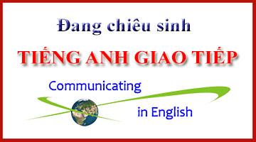 Khai giảng Khóa học Tiếng Anh giao tiếp tháng 11/2015