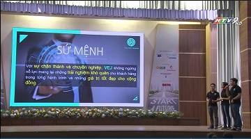 (K53MF) Nguyễn Lê Khang Cường với dự án khởi nghiệp trong cuộc thi Dynamic 2017