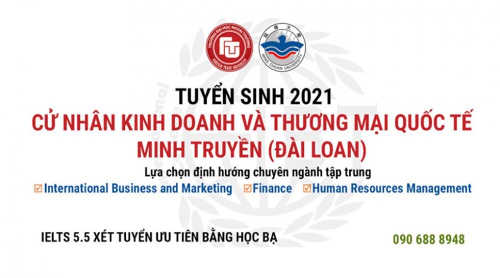 Chương trình Cử nhân Kinh doanh và Thương mại Quốc tế Minh Truyền (Đài Loan)